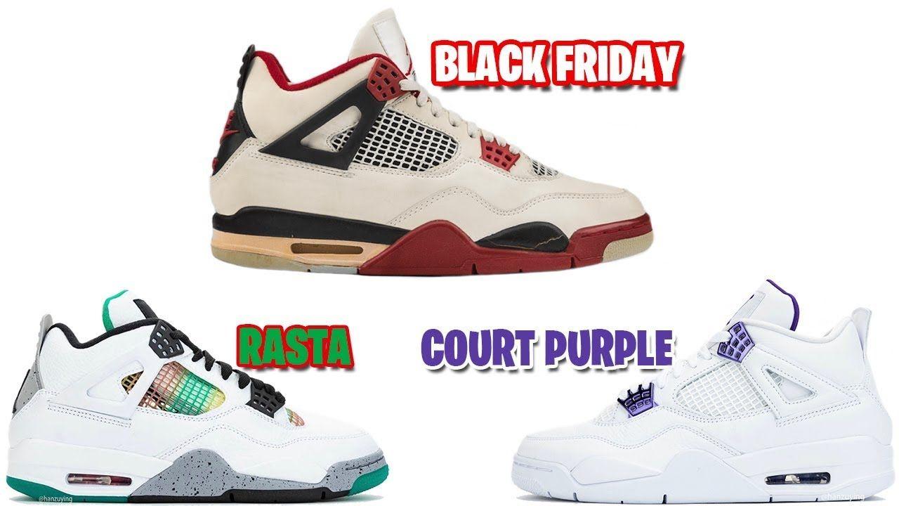 Air Jordan 4 Fire Red 2020 Jordan 4 Court Purple Rasta Nike Shuts Do In 2020 Air Jordans Jordans Jordan 4