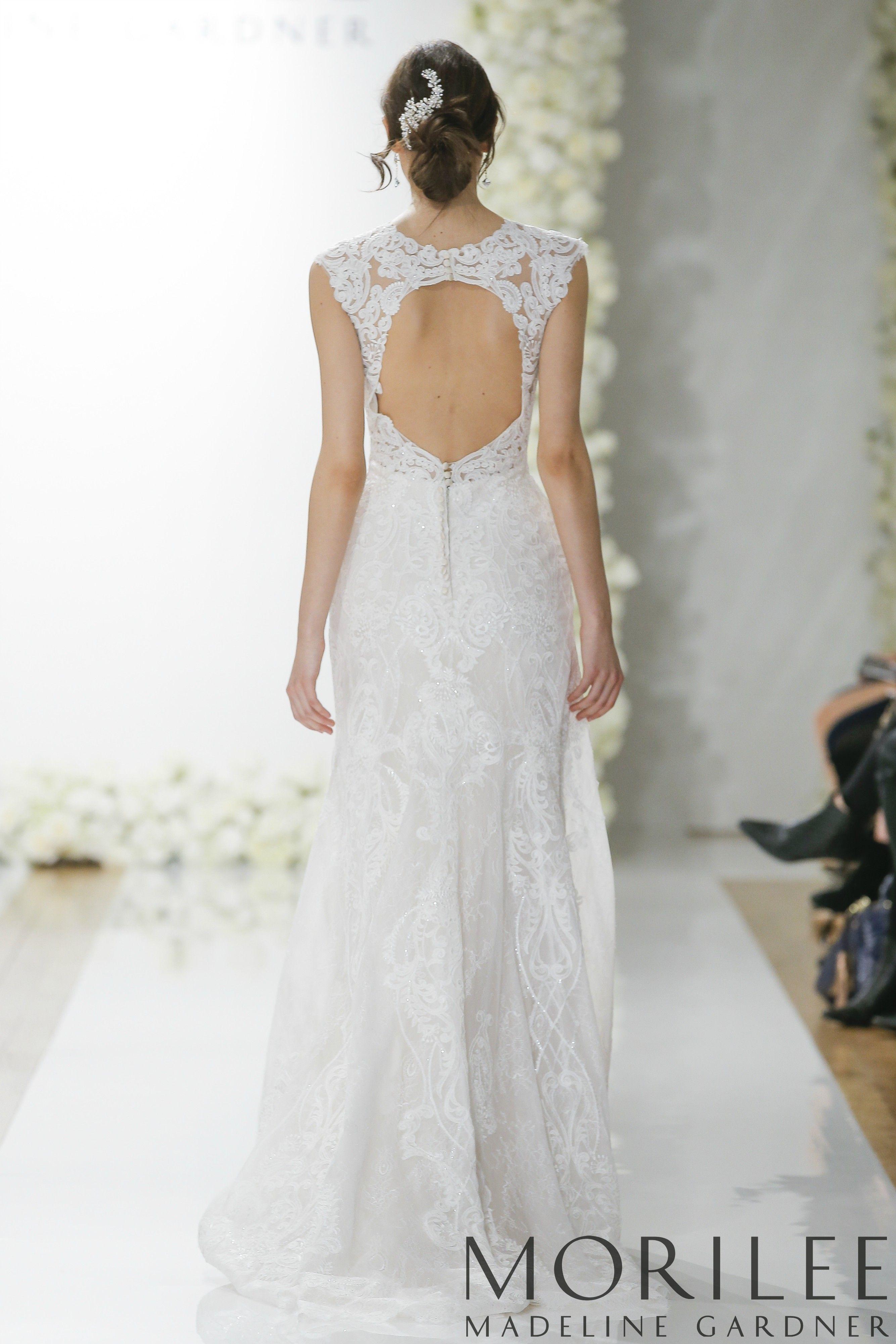 5a0f84da Morilee | Madeline Gardner, Lynette Style 8288 | Vintage Inpired Wedding  Dress Featuring Frosted,
