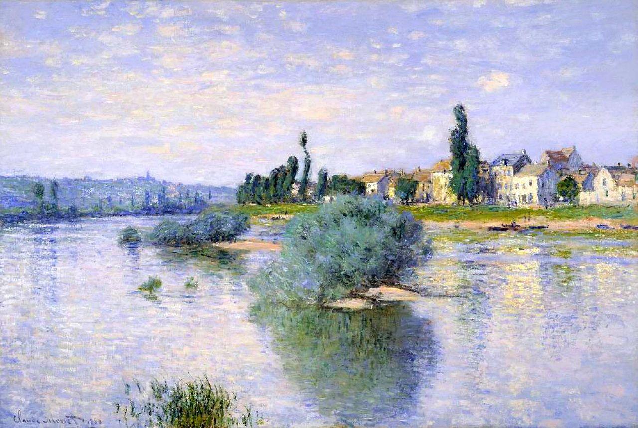 The Seine at Lavacourt, 1880