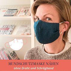 Photo of Mundschutz nähen ohne Draht und Schrägband | Elle Puls