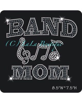 A personal favorite from my Etsy shop https://www.etsy.com/listing/163524597/band-mom-spirit-transfer-iron-on