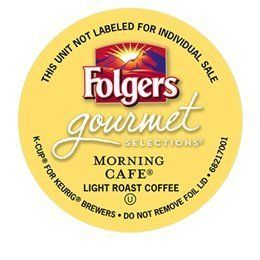 24 Count - Folgers Gourmet Selections Morning Cafe Coffee For Keurig Brewers - http://hotcoffeepods.com/24-count-folgers-gourmet-selections-morning-cafe-coffee-for-keurig-brewers/