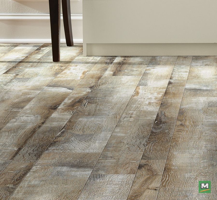 Shaw® Highcrest Rustic Cottage laminate flooring comes