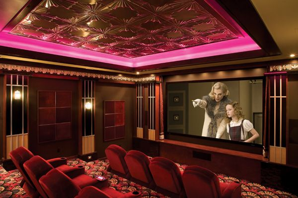 Just imagine! A flamboyant Cineplex compacted into a room with a 144 ...