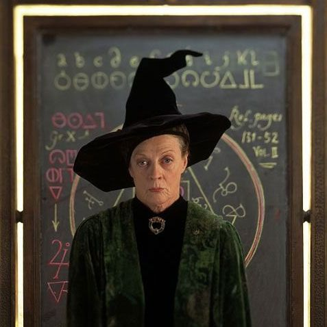 Famous Witches From Harry Potter Series Famous For Professor Mcgonagall Is The Deputy Headmistress Of Maggie Smith Harry Potter Universal Harry Potter Love