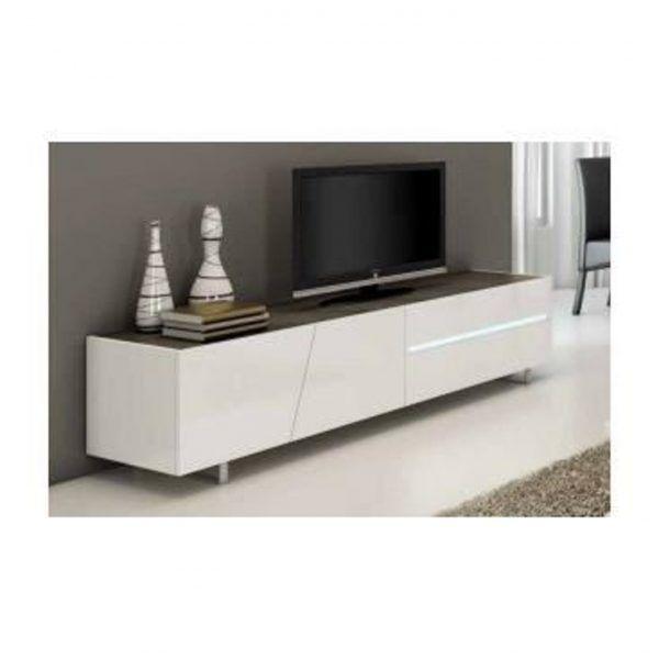 Redoutable Meuble Tv Pas Large Décoration Française Pinterest - Meuble tv blanc laque pas cher pour idees de deco de cuisine