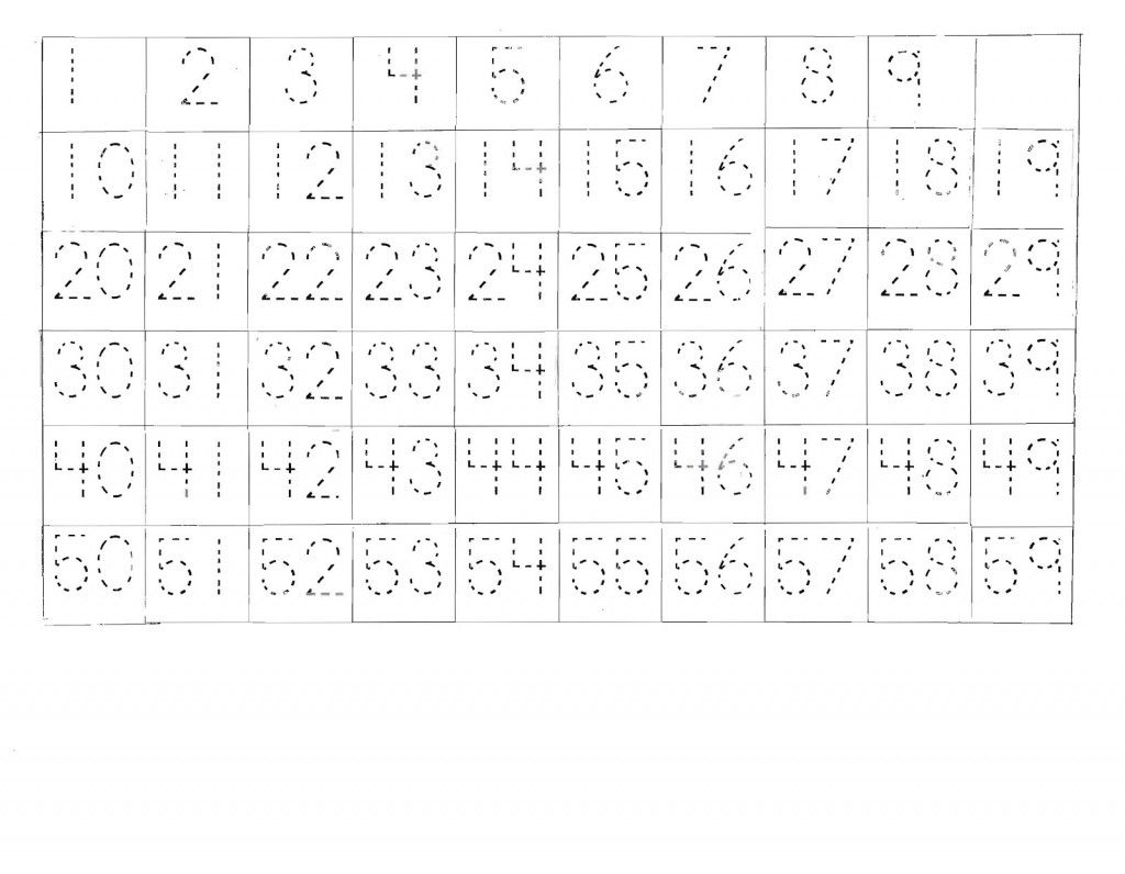 Number Sheet 1 100 To Print Tracing Worksheets Number Worksheets Writing Numbers Number chart worksheets sight