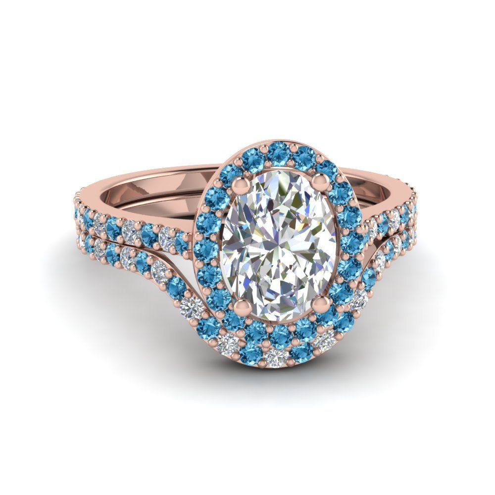 Oval Halo Ring With Curved Band | Pinterest | Halo rings, Diamond ...