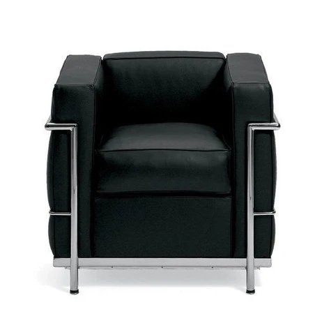 Le Corbusier Petite Lounge Chair Lc2 In 2020 Lounge Armchair Leather Lounge Chair Small Lounge Chairs