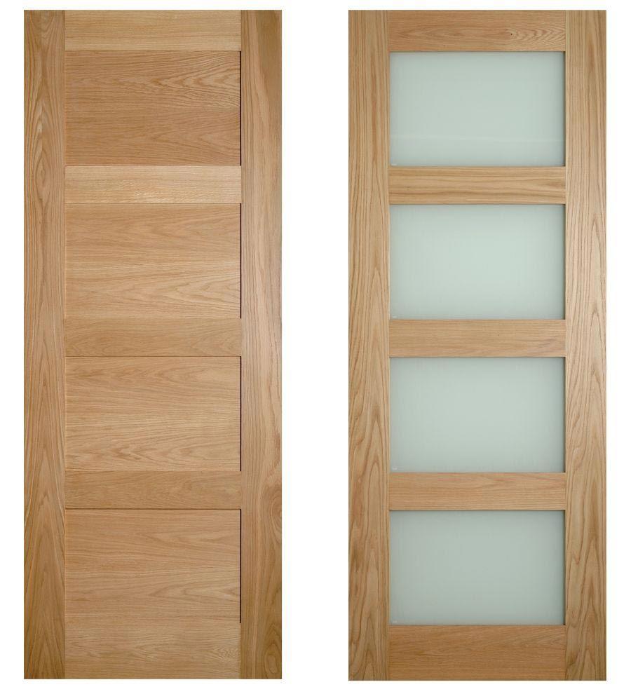 4 Panel Shaker Style Internal Doors Residential Architectural Design Pinterest Internal