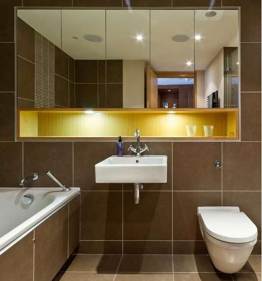 recessed bathroom mirror  Google Search  Kaer Alighieri