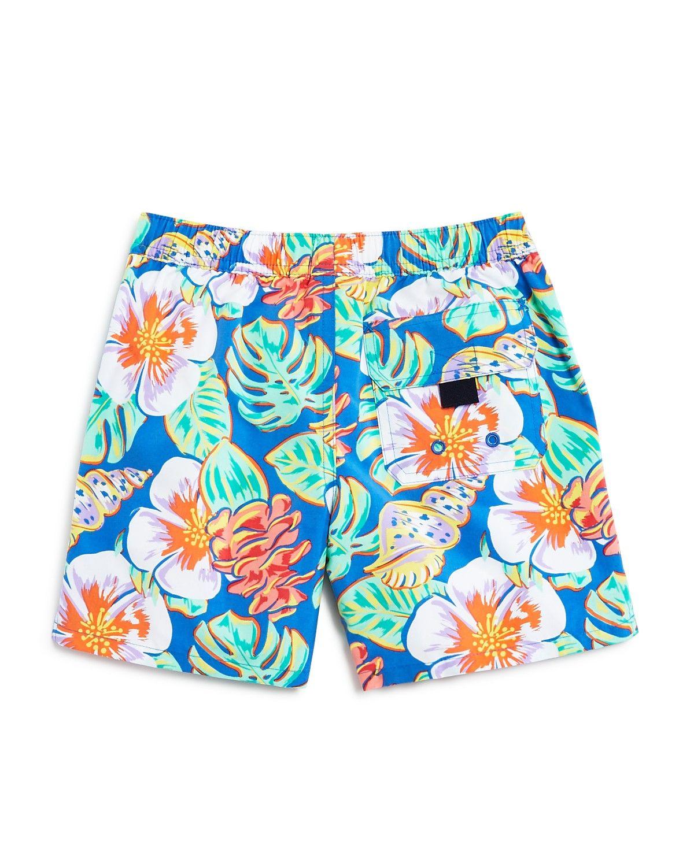 0c6241afbe234 Vineyard Vines Boys  Island Leaves Swim Shorts   Pouch - Sizes S-XL ...