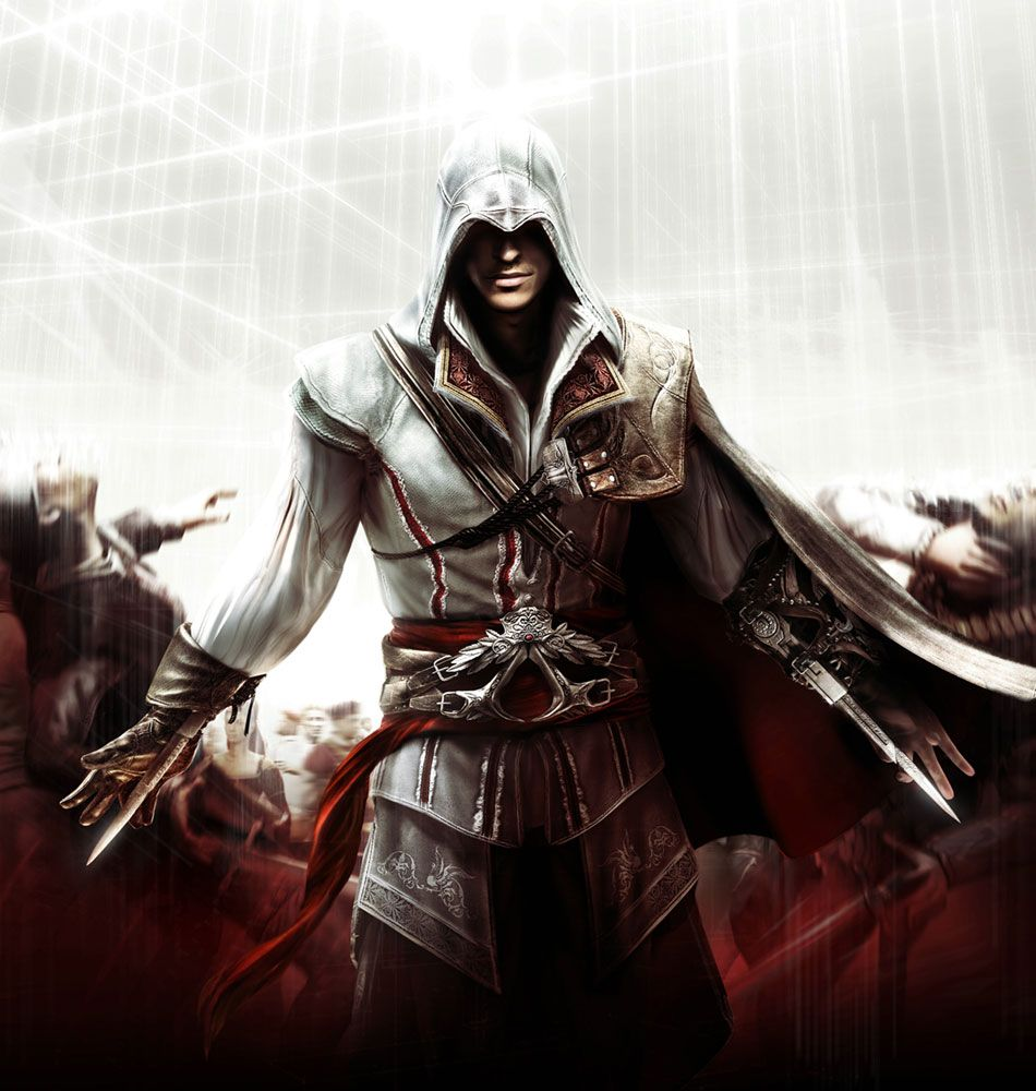 Ezio Auditore From Assassin S Creed 2 Assassin S Creed Ii