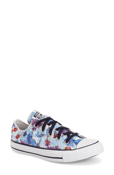 Converse Chuck Taylor® All Star® 'Daisy Print Ox' Low Top Sneaker available at #Nordstrom