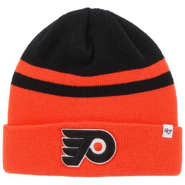 6e877d40824 Philadelphia Flyers  47 Cedarwood Cuffed Knit Hat - Orange Black ...