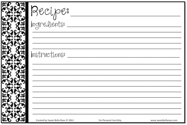 Recipe Template Microsoft Word from i.pinimg.com