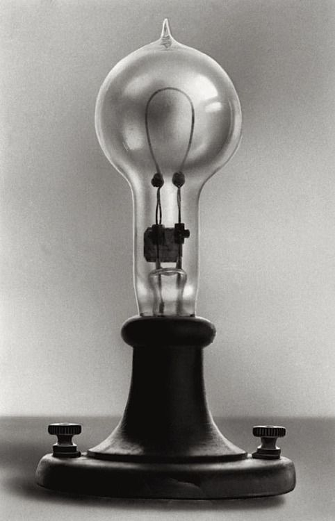 VintagehandsomemenThomas Edisons Electric Lamp Patented January 27 1880Thomas First