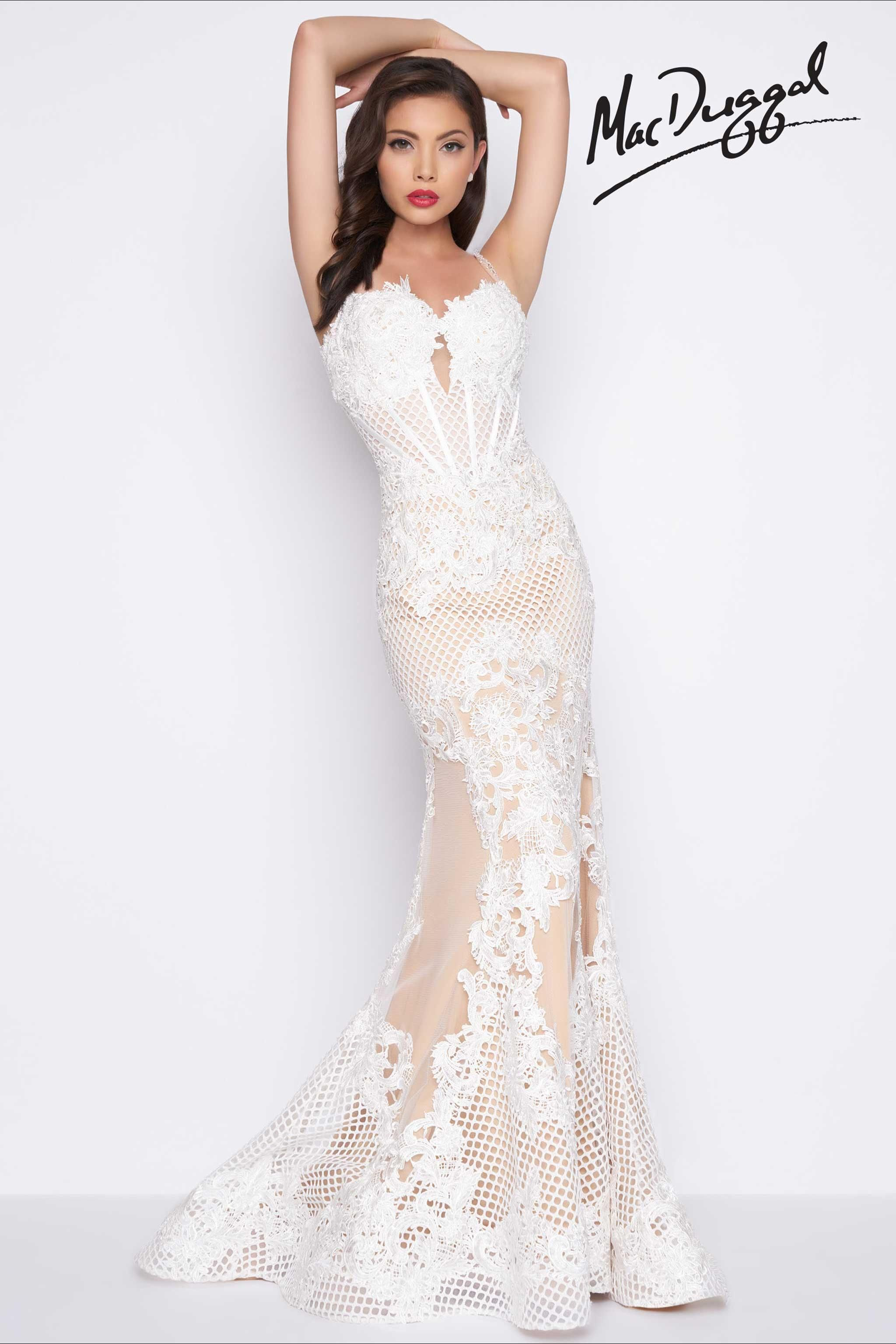 Ivory Evening Gown   Good things come to those who wait   Pinterest ...