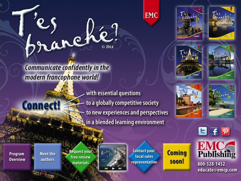 EMC's T'es branché? is the most talked about, allnew