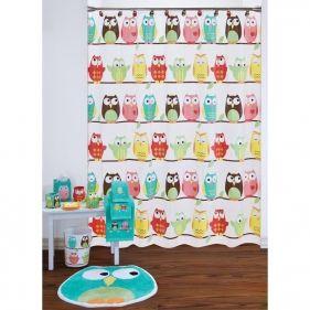 Owl Shower Curtain And Bath Accessories By Saturday Knight Ltd Vinyl Shower Curtains Owl Kitchen Decor Owl Bathroom