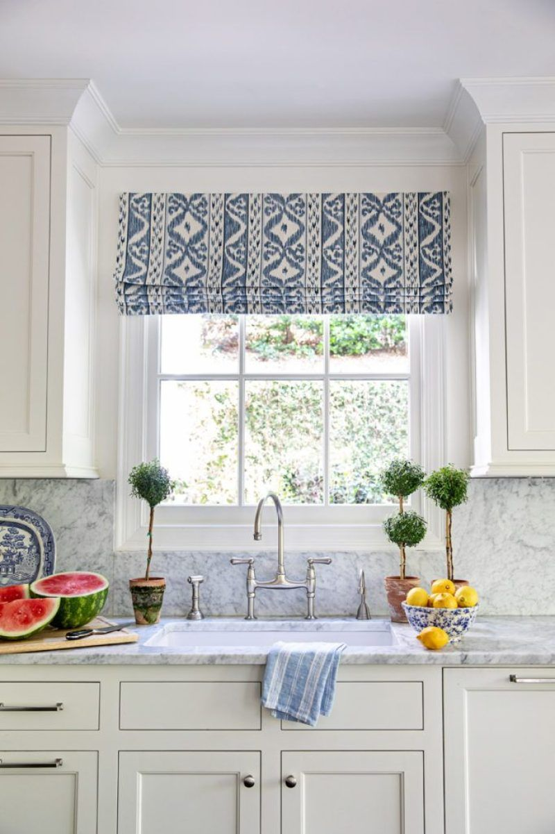 Style Profile Clary Bosbyshell The Glam Pad In 2020 Kitchen Window Coverings Kitchen Window Treatments Kitchen Valances