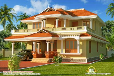 Kerala Style Traditional House 2808 Sq Ft House Outside Design Kerala House Design Best Color For House