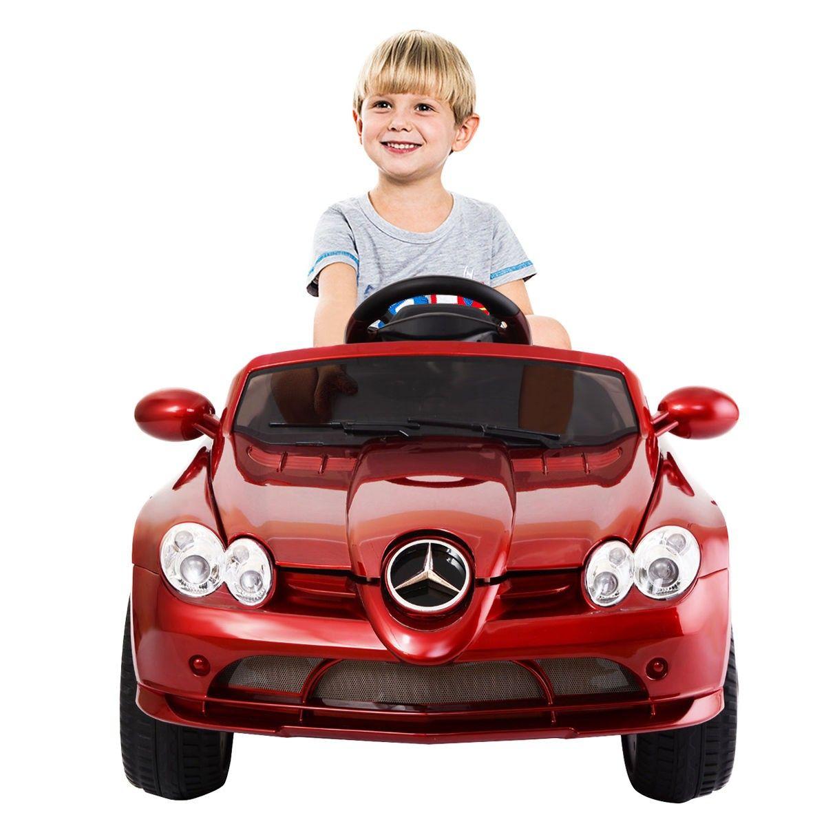 12 V Mercedes Benz R199 Kids Ride On Car W/ MP3 + RC