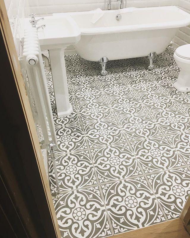 Devon Stone Grey Feature Hallway Flooring Kitchen