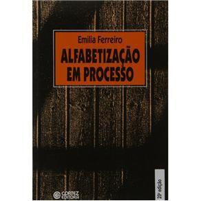 Livro Alfabetizacao Em Processo Emilia Ferreiro Emilia
