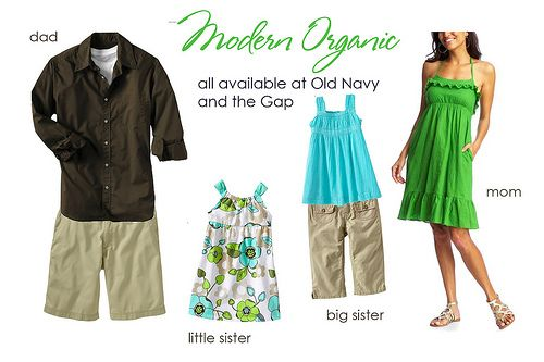 Greens and blues...photo shoot outfit ideas