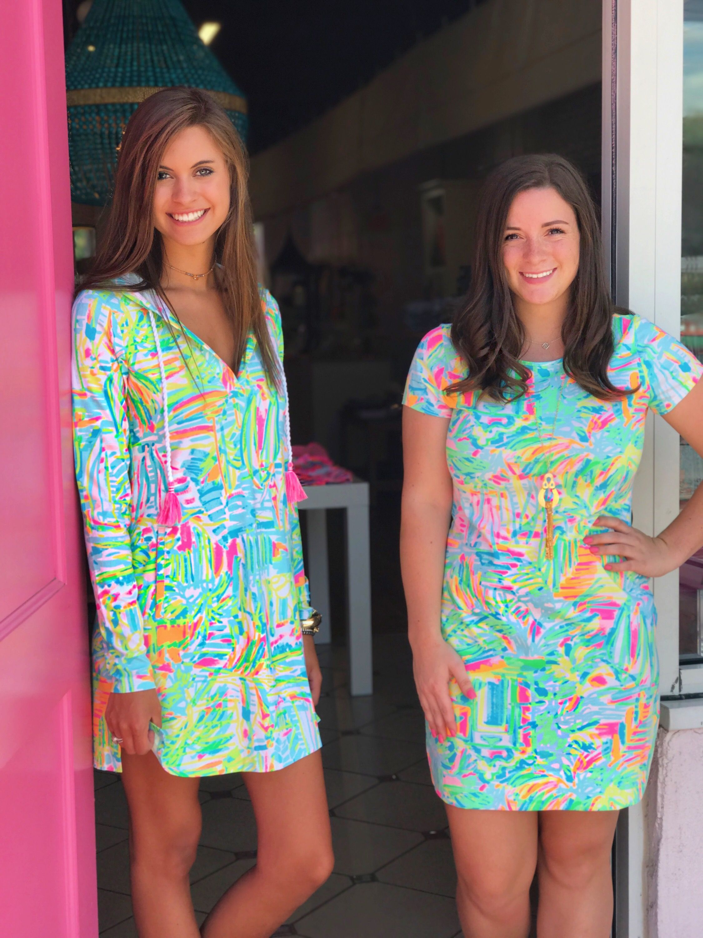 635d34986bf SEA SALT AND SUN LILLY PULITZER SUMMER 2017 Short Sleeve Marlowe Dress  Rylie Beach Cover-up Ril