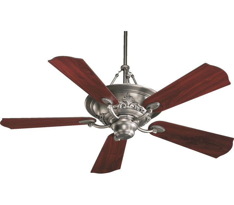 Quorum 83565 86 Salon Oiled Bronze Uplight 56 Ceiling Fan With