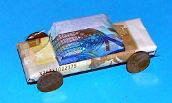 Auto Aus Geld Falten Geburtstagsideen Presents Und Diy