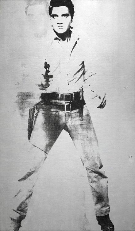 Andy Warhol,  Double Elvis [Feris Type] (1963)