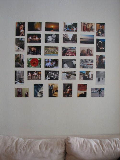 Pin By Sarah Major On Home Dorm Photo Walls Room Pictures Photo Walls Bedroom