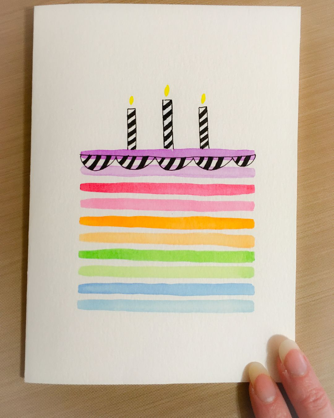 I Made This Birthday Card For My Sweet Aunt Who Just Had A Birthday The Design Is By Kristina Wern Birthday Card For Aunt Birthday Card Drawing Birthday Cards