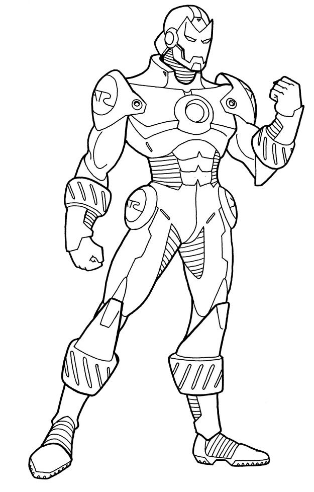 I have download The Iron Man Balled His Hands Rising And Strong - fresh spiderman coloring pages for toddlers