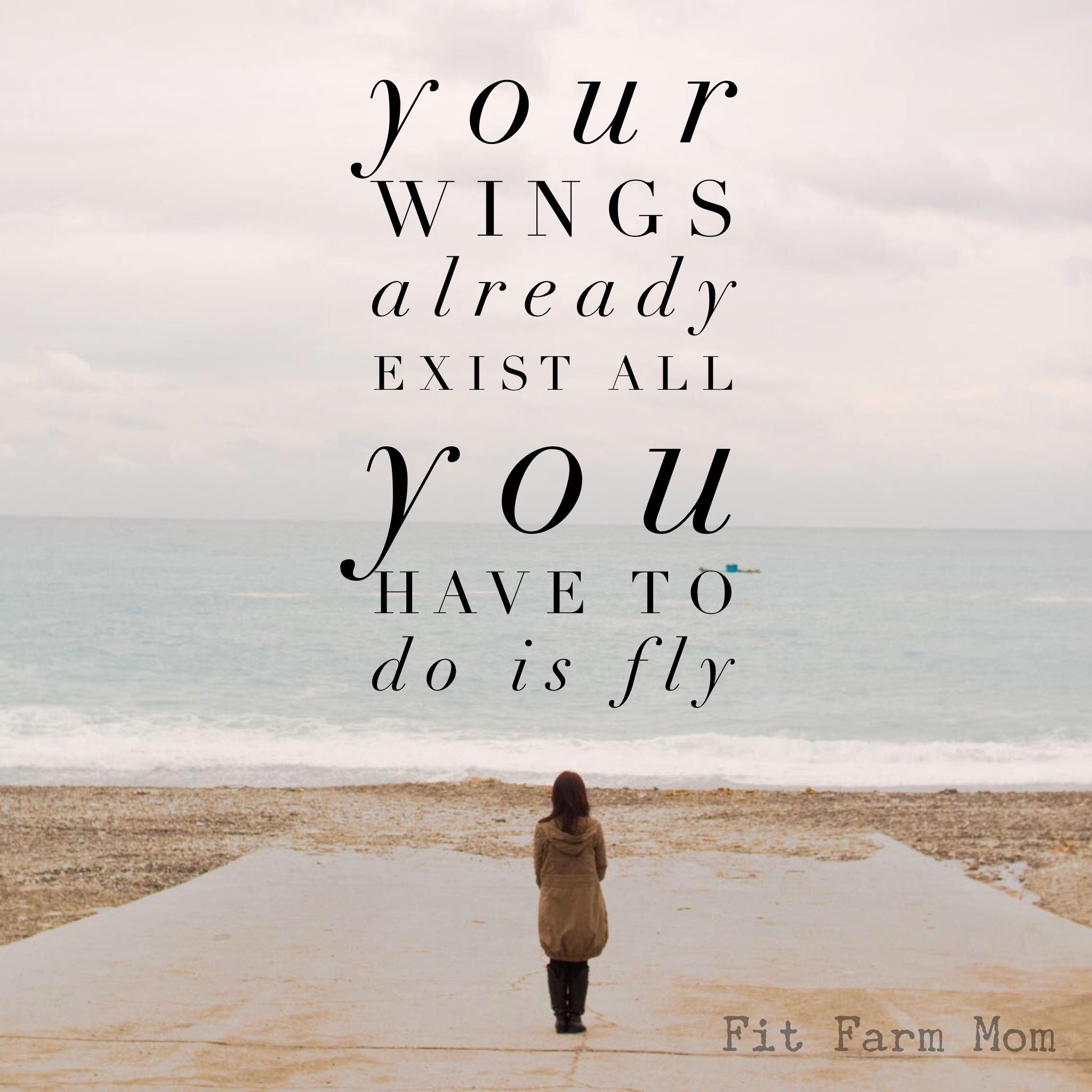 Quote motivation spread your wings boss babe entrepreneurs