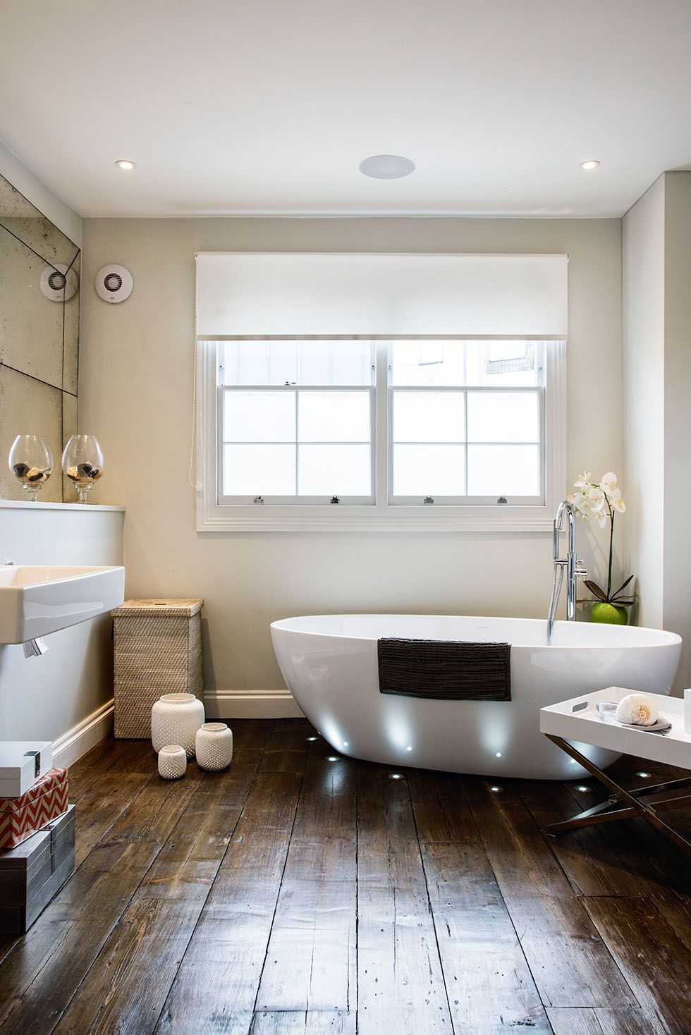 franklin-bathroom-lighting-wood-floor | Draytons | Pinterest ...