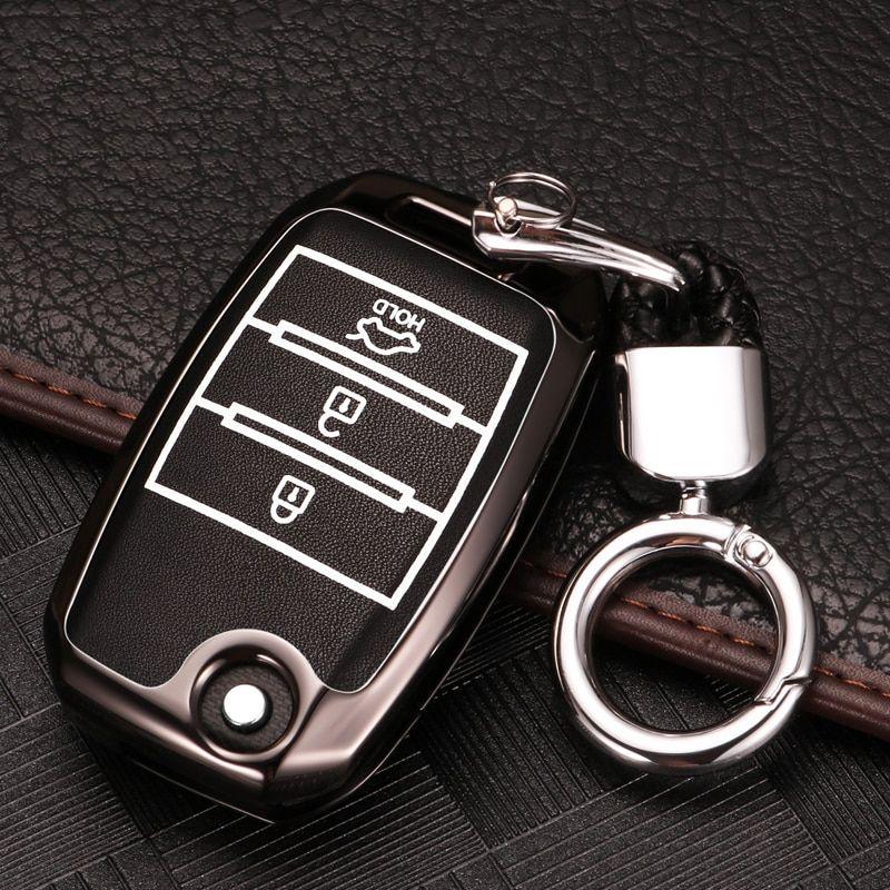 Silicone Car Remote Key Cover Case For Kia Rio Ceed Soul Sportage Sorento Carens