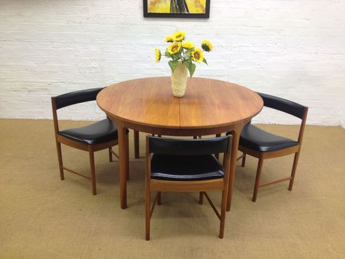 Mid Century Extending Teak Mcintosh 1960 S Dining Table 4