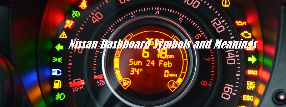 Nissan Dashboard Symbols and Meanings Nissan, Symbols