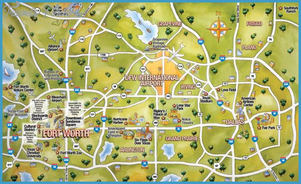 Austin Map Tourist Attractions httptravelsfinderscomaustin