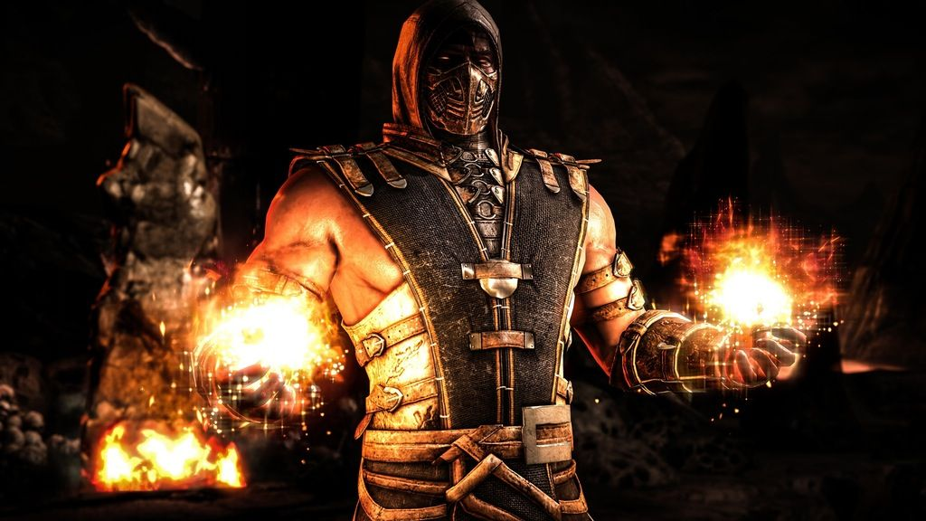 Scorpion Black 4k Wallpaper Mortalkombat Walpappers