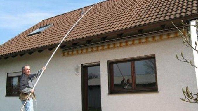 Moose Flechten Und Algen Von Dach Und Fassade Entfernen Dach Reinigen Dach Moos Entfernen