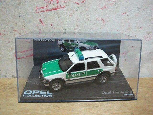 Opel Frontera B Isuzu Rodeo Wizard Polizei Suv 1 43 Model Car Free