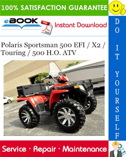 2008 Polaris Sportsman 500 Atv Service Repair Manual Repair Manuals Repair Touring