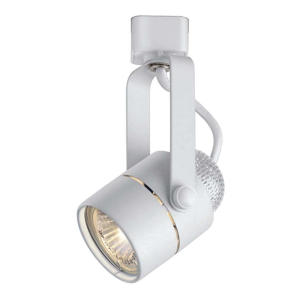 hampton bay 120 volt white pinhole cylinder linear track lighting
