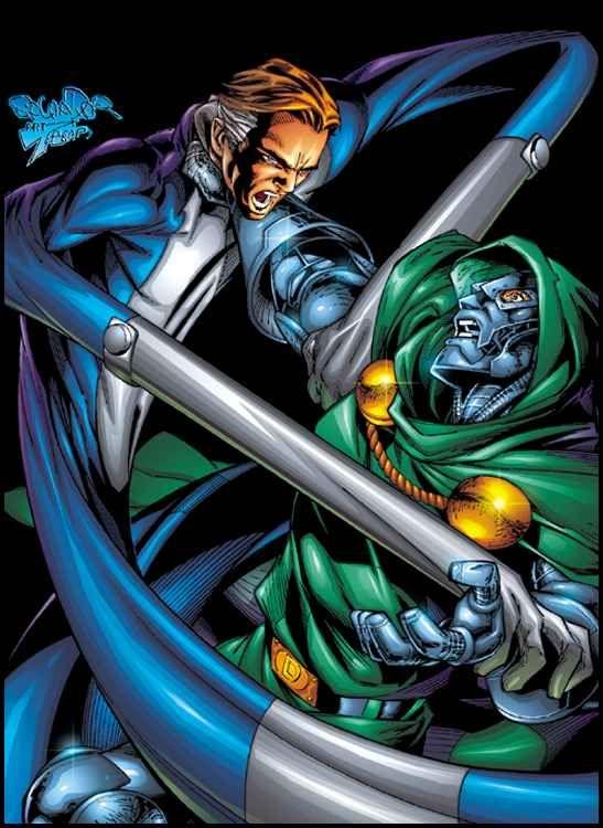 Reed Richards vs. Dr. Doom