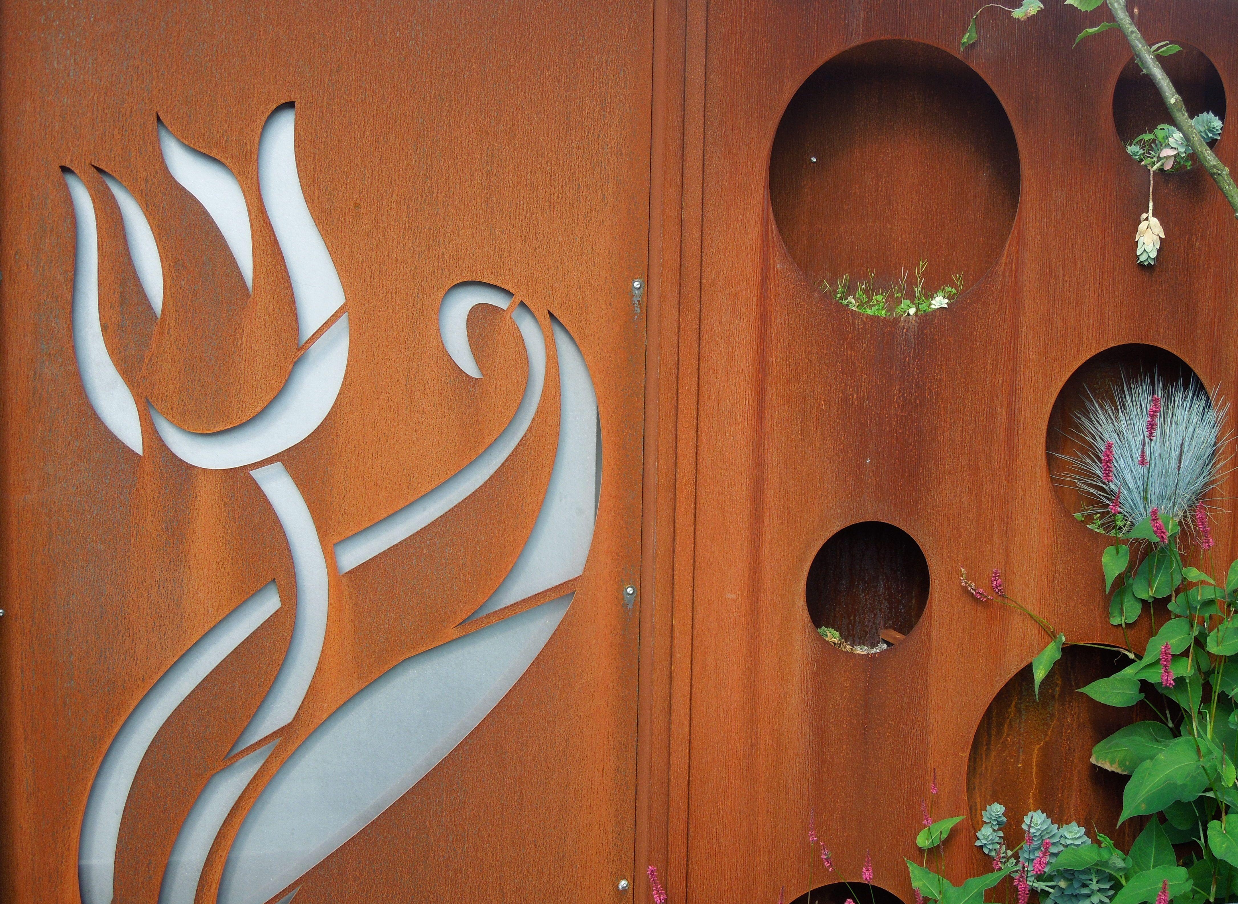 Mooie Wanddecoratie Tuin Kunst Creatief